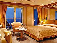 Panorama Suite mit Balkon Costa Mediterranea